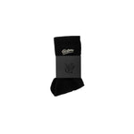 Cotton blend tube sock by New Zealand skate and streetwear clothing label VIC Apparel. Embroidered logo.