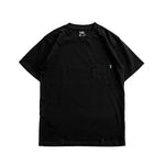 FLAG HEAVYWEIGHT POCKET TEE - BLACK