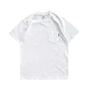 Premium quality pocket tee shirt by New Zealand skate and streetwear clothing label VIC Apparel. A clean, heavyweight & price point staple.