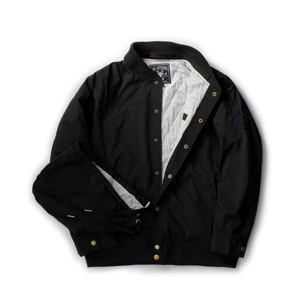VIC BOMBER JACKET - BLACK