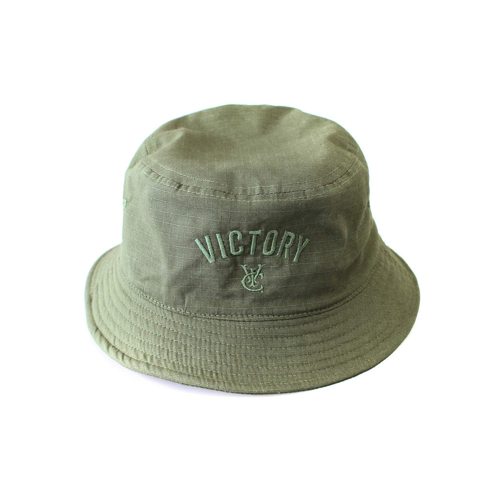 CENTRE BUCKET HAT - OLIVE