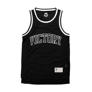 CLUB BASKETBALL JERSEY - BLACK