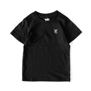 FEATHER KIDS TEE - BLACK