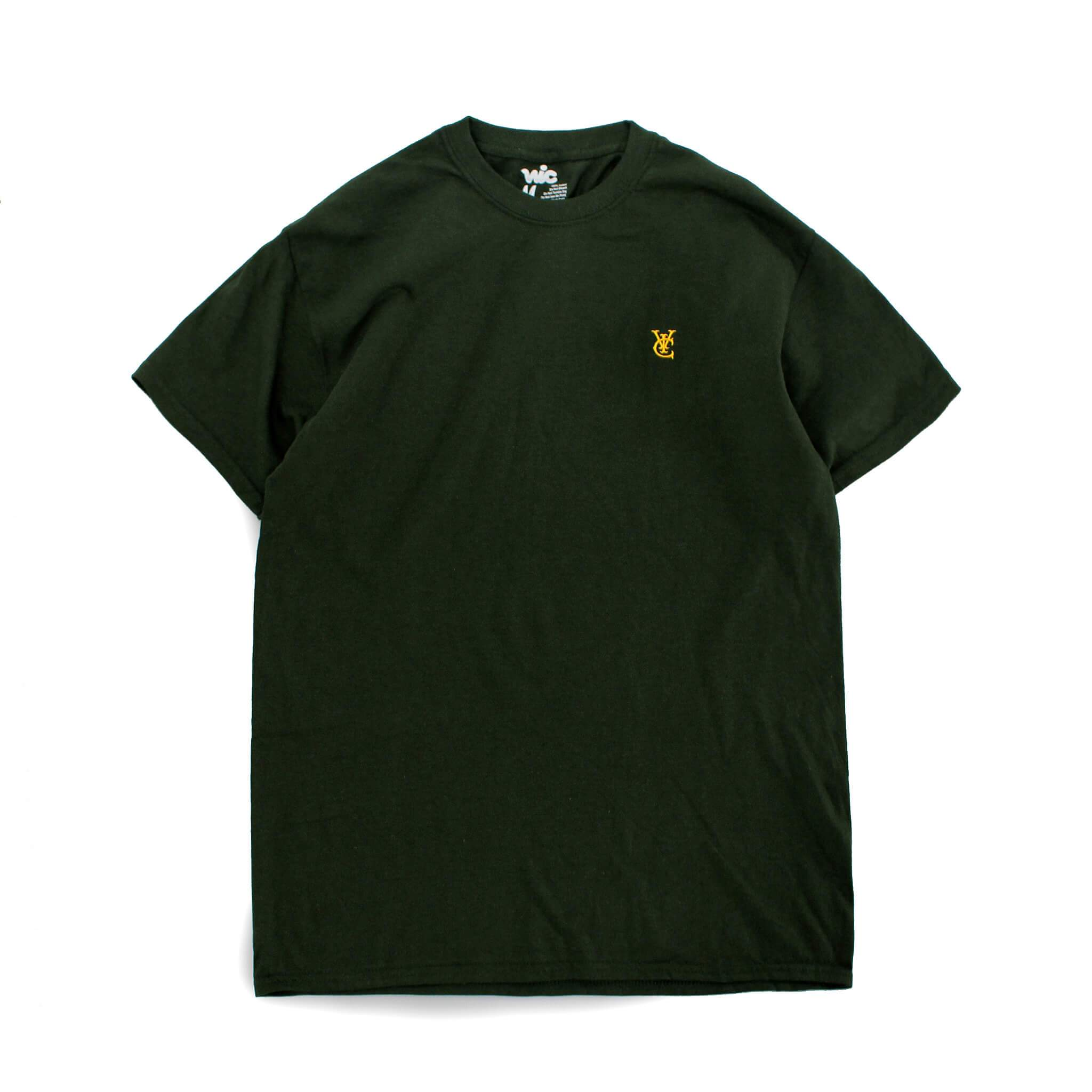 FEATHER TEE - FOREST GREEN