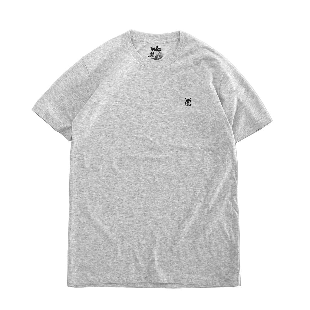 FEATHER TEE - GREY