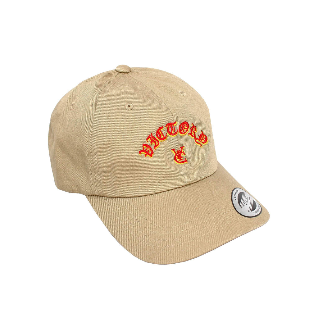 FLAME 6 PANEL CAP - KHAKI