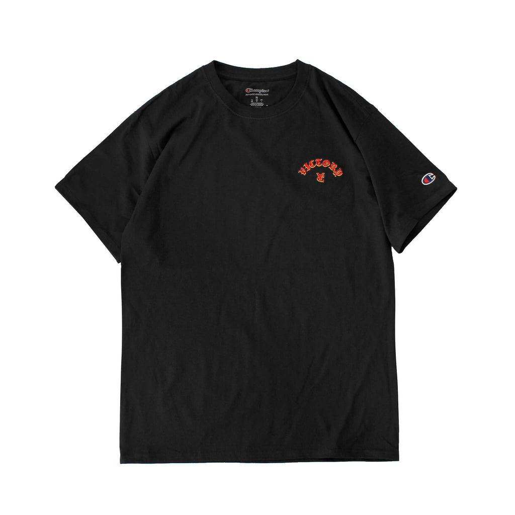 FLAME CHAMPION® TEE - BLACK