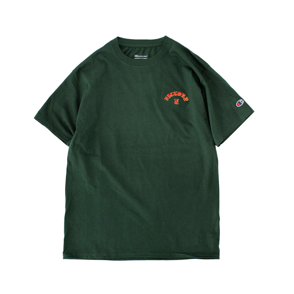 FLAME CHAMPION® TEE - FOREST GREEN