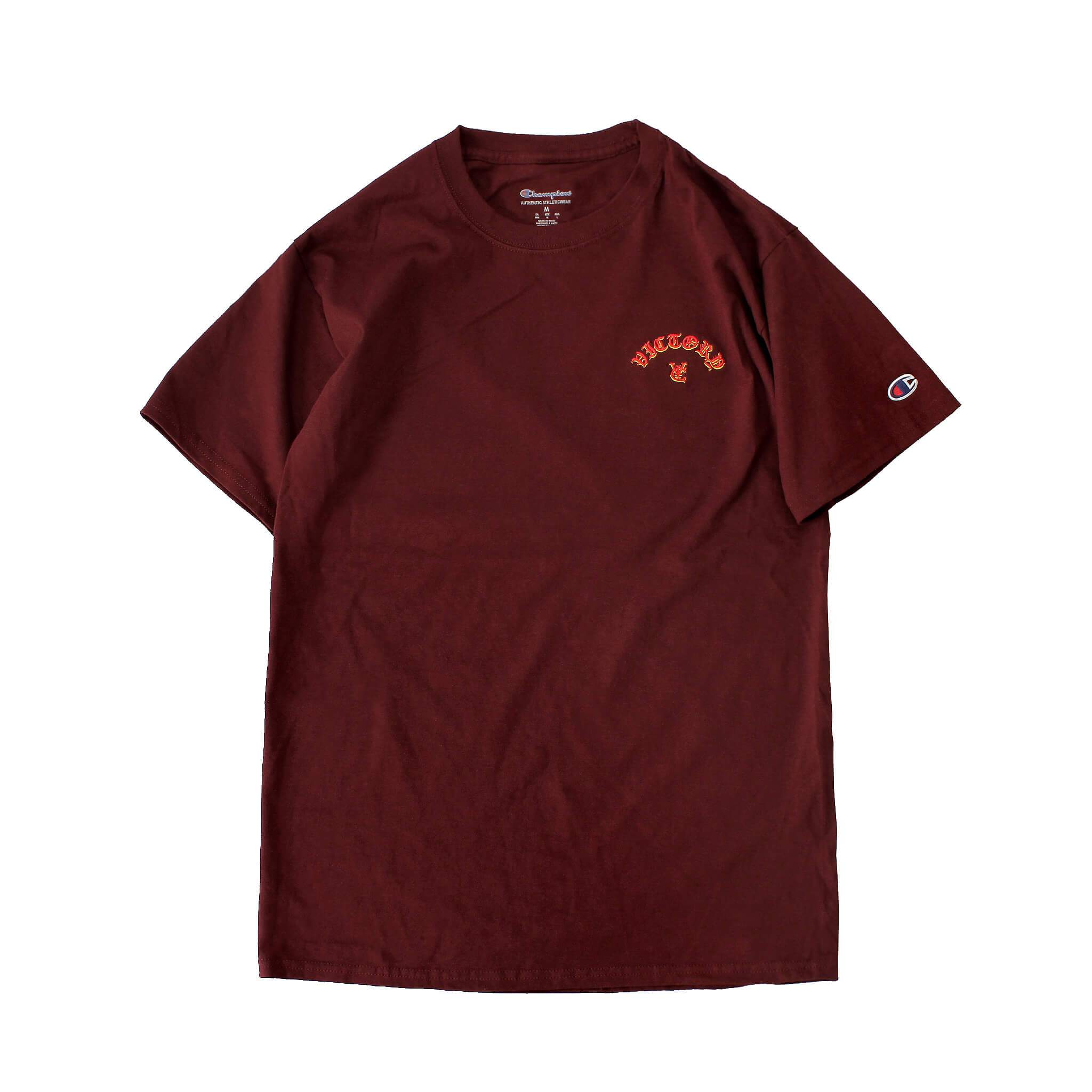 FLAME CHAMPION® TEE - MAROON