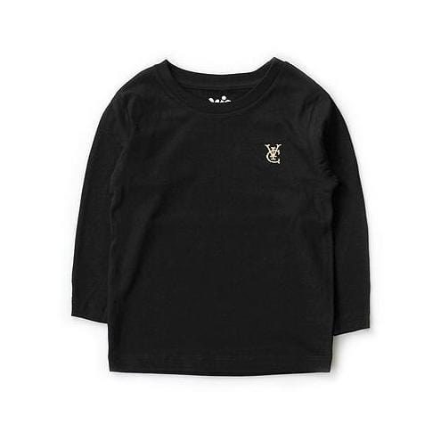 FEATHER KIDS L/S TEE - BLACK