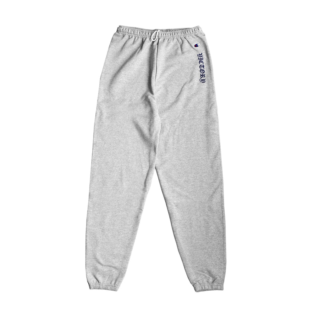OL' ENGLISH CHAMPION® SWEATPANTS - GREY