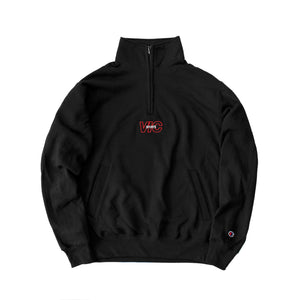 SPORTS CHAMPION® 1/4 ZIP PULLOVER - BLACK