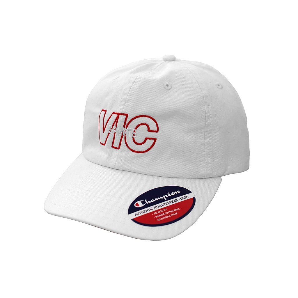 SPORTS CHAMPION® TWILL CAP - WHITE