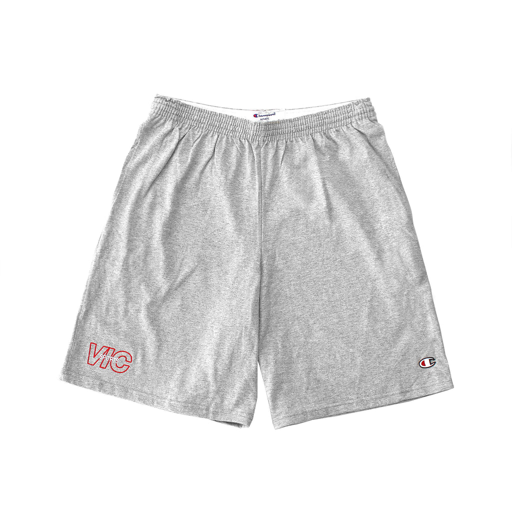 SPORTS CHAMPION® JERSEY SHORTS - GREY