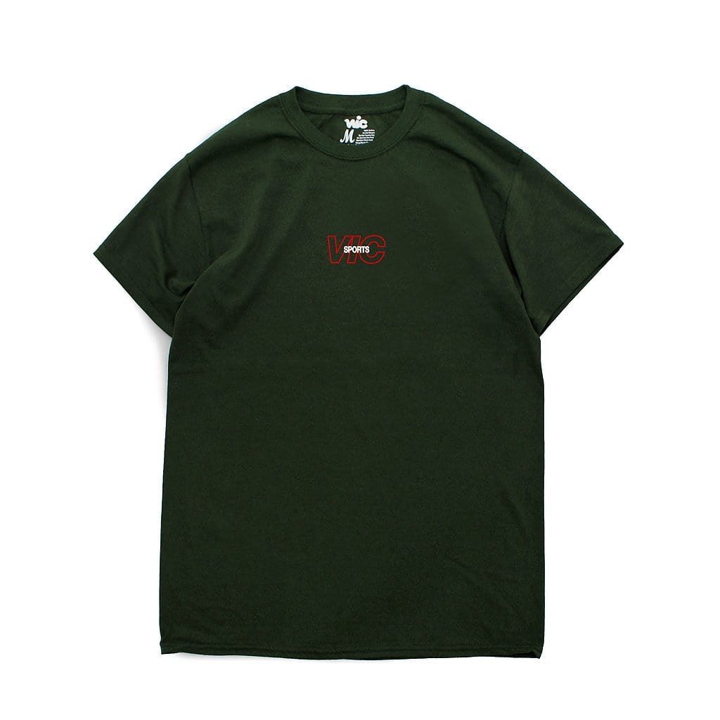 SPORTS TEE - FOREST GREEN