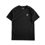 Premium quality tee shirt by New Zealand skate and streetwear clothing label VIC Apparel. Heavyweight, 100% Cotton, High-density logo print on chest