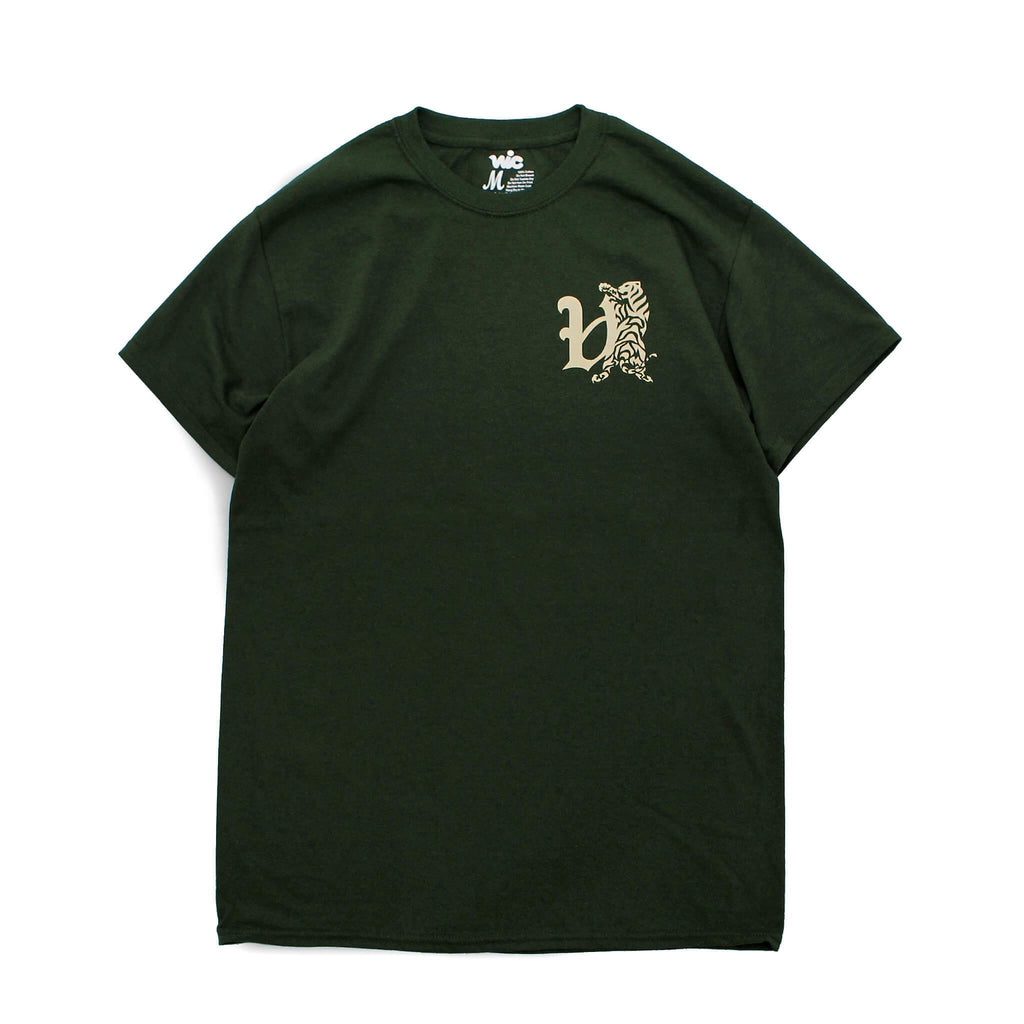 TORA CHEST TEE - FOREST GREEN