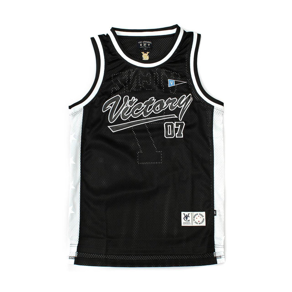 VIC BASKETBALL JERSEY - BLACK