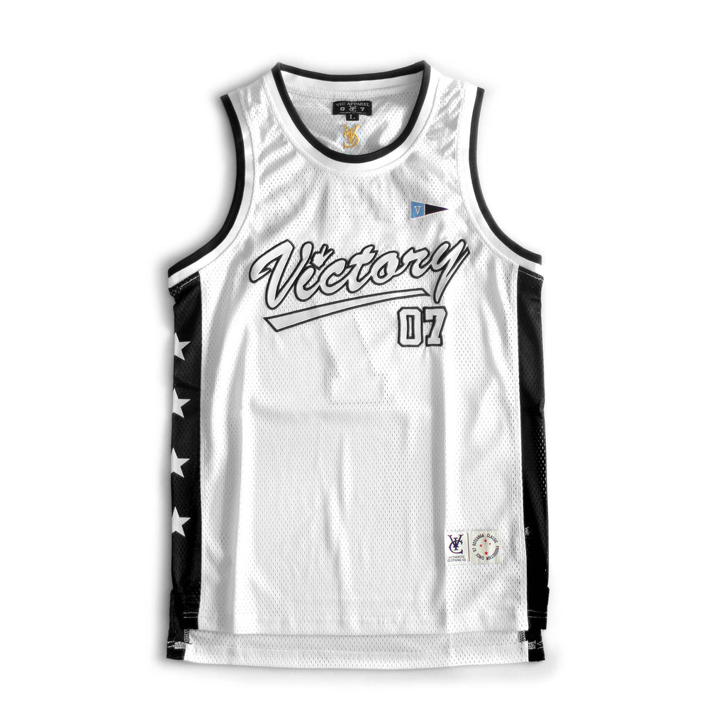 VIC BASKETBALL JERSEY - WHITE