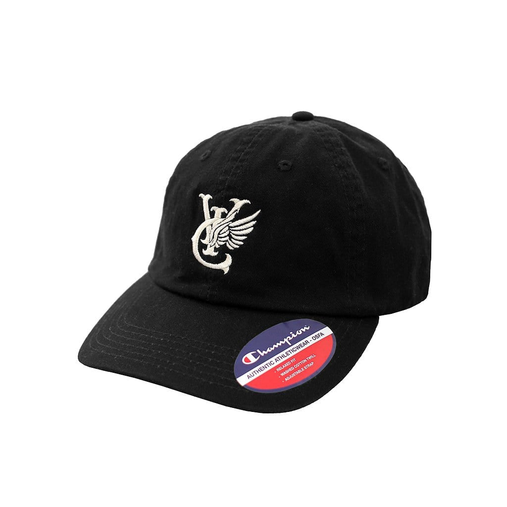 WING CHAMPION® TWILL CAP - BLACK