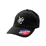 WING CHAMPION® JERSEY KNIT CAP - BLACK