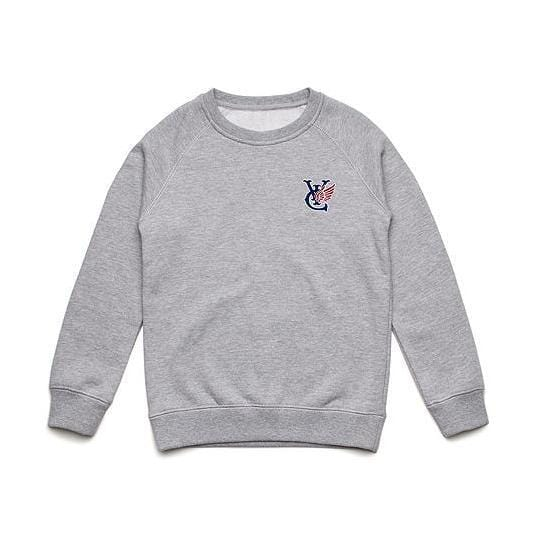 WING KIDS CREW - GREY