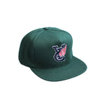 WING SNAPABCK CAP - FOREST GREEN