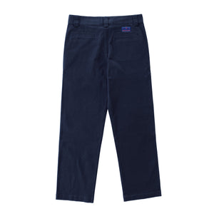 Premium quality classic heavy-duty work pants by New Zealand skate and streetwear clothing label VIC Apparel. American classic vintage workwear style. Loose fit. Relaxed through the hip and thigh, with a slightly tapered leg.