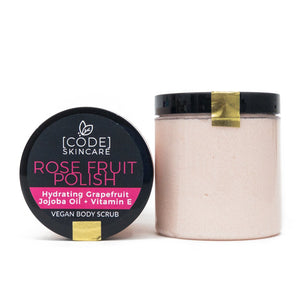Rose Fruit Body Polish