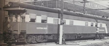 HO Brass NBL - North Bank Line BN - Burlington Northern Kootenai River Business Car Factory Painted