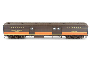 HO Walthers IC - Illinois Central ACF 70' Heavyweight Arched Roof Baggage Car
