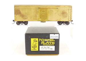 HO Brass NPP - Nickel Plate Products PRR - Pennsylvania Railroad 40' Boxcar w/ 2 Door X-31b