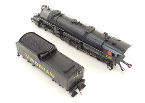 HO Brass Westside Model Co. SP - Southern Pacific Class A-6 4-4-2 Factory Painted Daylight