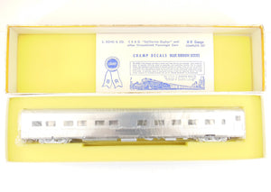HO Brass Hi-Country Brass California Zephyr 429 10-6 Sleeper CB&Q, WP, & D&RGW Plated
