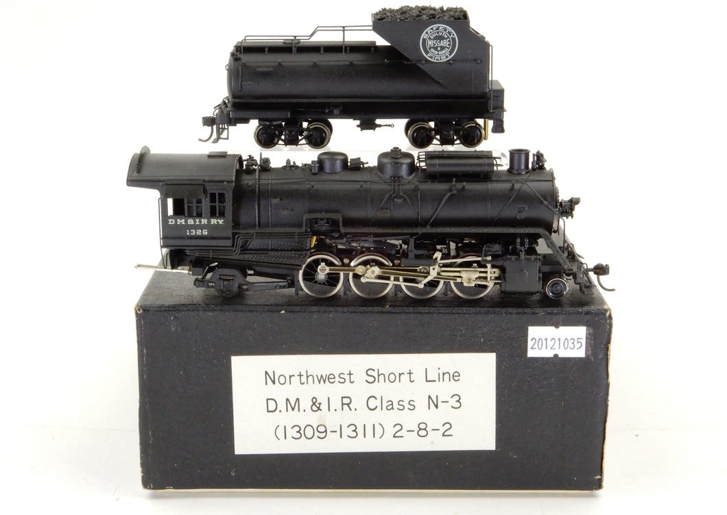 HO Brass NWSL - Northwest Short Line DM&IR - Missabe Class N-3 2-8-2 Custom Painted