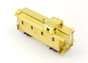 HO Hallmark Models IC - Illinois Central Side Door Caboose Kadee Trucks AS-IS