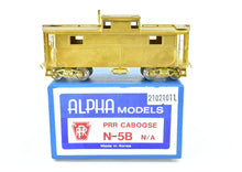 Load image into Gallery viewer, HO Brass Alpha Models PRR - Pennsylvania Railroad N-5B Center Cupola Cabin Car