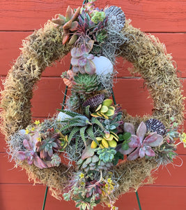 Living PeaceSign Garden Arrangement -13""