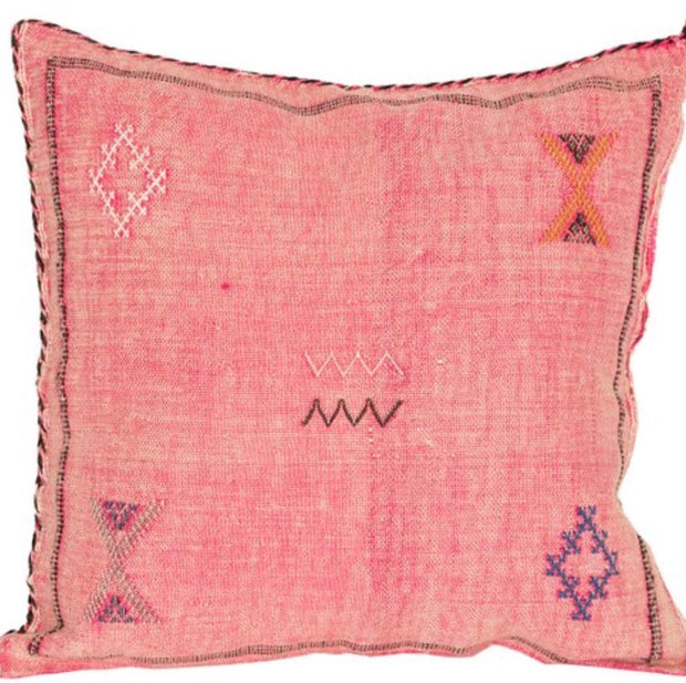 SUNDRENCHED ROSE Moroccan Pillow