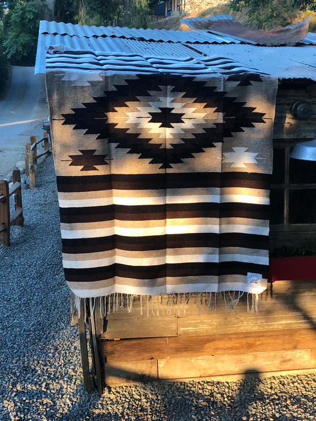 COFFEE  DREAMS Heavy Weave Diamond Blanket (Thick and Cozy)
