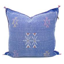 COWBOY DENIM Morroccan Pillow Cover