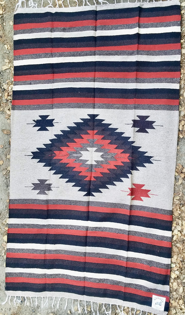 Heavy-Weave Diamond Blanket in Desert Sunset (4' x 6.5')