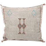 CREAM LATTE Moroccan Pillow