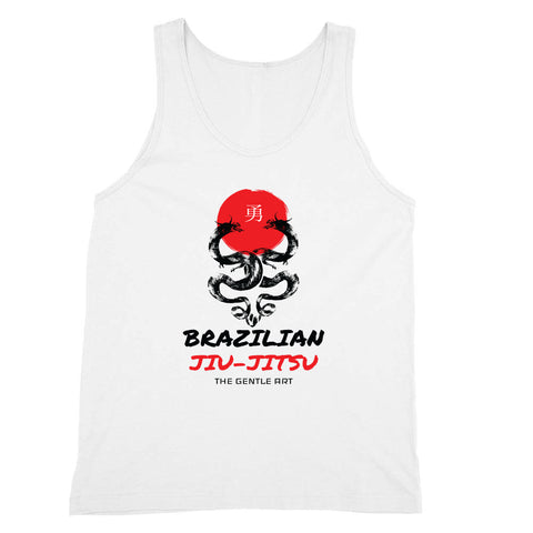 Unuisex BJJ Tank Top - Gentle Art