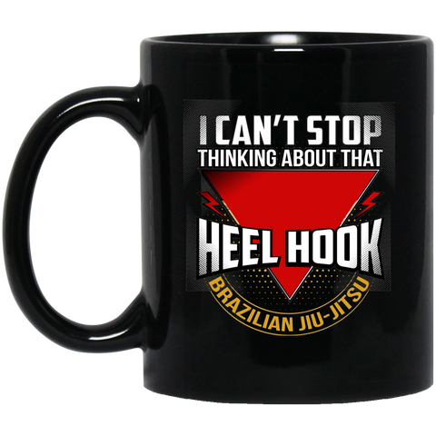 Image of BJJ Heel Hook Black Mug