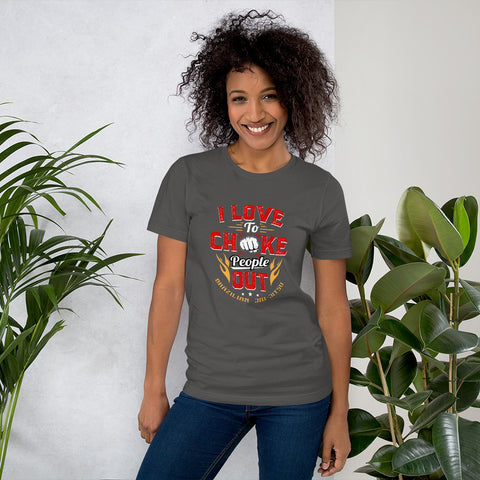 Image of BJJ Tee Love Chokes