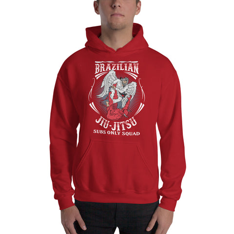 BJJ Angel Warrior Subs Only Hoodie