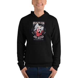 BJJ Angel Warrior Hoodie - Heel Hook Lovers
