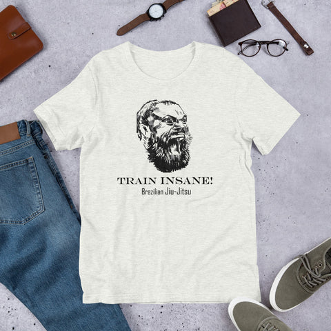 Image of Unisex BJJ T-Shirt - Train Insane