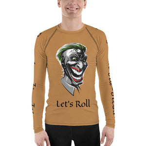 BJJ Rash Guard - Let's Roll Funny Face